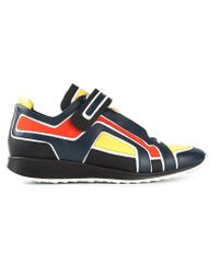Pierre Hardy - Blue Colour Block Sneakers for Men - Lyst