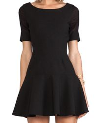 Elizabeth and James - New Amalia Dress in Black - Lyst