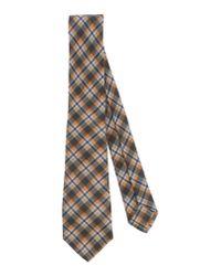 Kiton - Gray Tie for Men - Lyst
