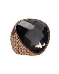 Jessica Simpson | Black Ring Capsule Ring | Lyst