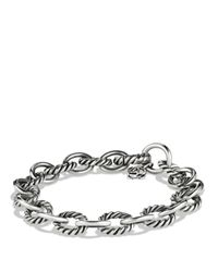 David Yurman | Metallic Oval Link Bracelet | Lyst