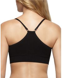 Yummie By Heather Thomson | Black Mallory Seamless Racerback Bra | Lyst
