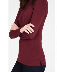 Warehouse | Red Crew Neck Jersey Top | Lyst