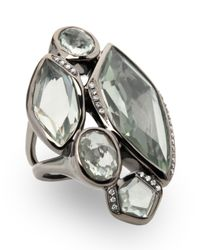 Ippolita - Wicked 5-stone Green Amethyst Ring - Lyst
