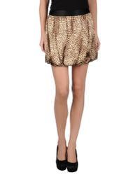 Guess - Multicolor Mini Skirt - Lyst