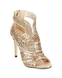Klub Nico | Metallic Mallorca Filigree Pumps | Lyst