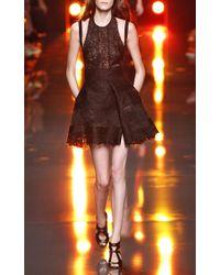 Elie Saab - Black Lace Halter Dress - Lyst