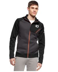 Nike | Black Kd Surge Elite Performance Full-zip Hoodie for Men | Lyst