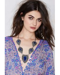 Nasty Gal | Blue Vanessa Mooney Izusa Lapis Necklace | Lyst