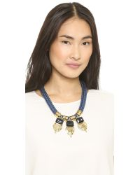 Holst + Lee - Holst  Lee Sky High Necklace - Blue Multi - Lyst