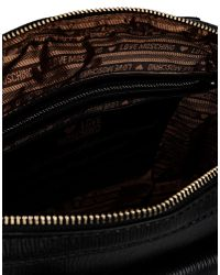 Love Moschino - Black Medium Fabric Bag - Lyst
