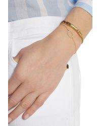 Monica Vinader - Metallic Riva Goldplated Diamond Bracelet - Lyst