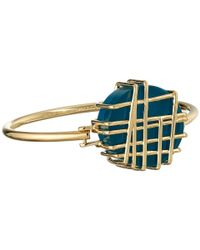 Marc By Marc Jacobs | Metallic Wildflower Scribble Hinge Bracelet | Lyst