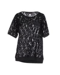 Minimum - Black Blouse - Lyst
