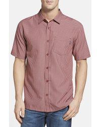 Jack O'neill - Purple 'maya Bay' Regular Fit Camp Shirt for Men - Lyst