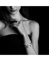 David Yurman - Metallic Sculpted Cable Bracelet in Gold - Lyst
