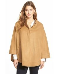 Charles Gray London - Brown Camel Hair Blend Cape - Lyst