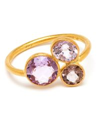 Marie-hélène De Taillac | Purple 18Kt Yellow Gold And Spinel Ring | Lyst