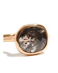 Melissa Joy Manning | Metallic 1.71 Carat Grey Rustic Rectangular Diamond Slice Ring | Lyst