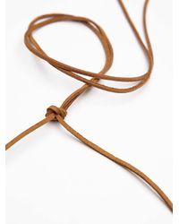 Free People | Natural Womens Dainty Stone Crown | Lyst
