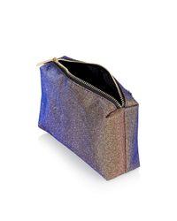 TOPSHOP | Purple Novelty Eyebrow Make-up Bag | Lyst