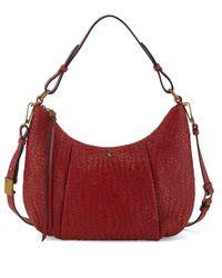 Elliott Lucca | Red Bali 89 Leather Demi Hobo Bag | Lyst