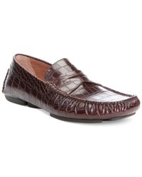 Donald J Pliner | Brown Vinco Loafers for Men | Lyst