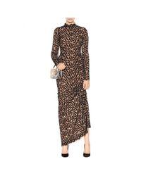 Stella McCartney - Black Silk Lace Gown - Lyst