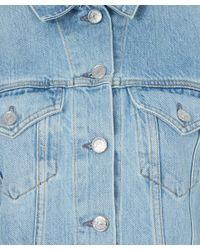Acne Studios - Light Blue Vintage Wash Denim Jacket - Lyst