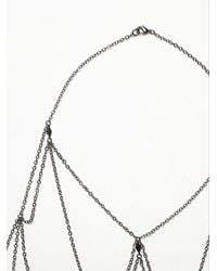 Free People - Metallic Leda Body Chain - Lyst