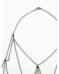 Free People | Metallic Leda Body Chain | Lyst