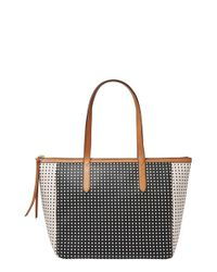 Fossil | Black Sydney Shopper | Lyst