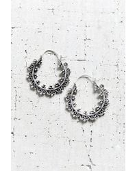 Urban Outfitters | Metallic East End Small Hoop Earring | Lyst