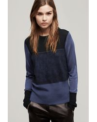 Rag & Bone - Blue Marissa Top - Lyst