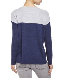 Joie - Blue Camilla Color Block Sweater - Lyst