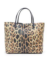 Givenchy | Multicolor Mini 'lucrezia' Leopard Tote | Lyst
