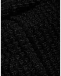 French Connection | Black Chunky Snood | Lyst
