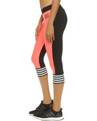 Monreal London | Pink Cropped Leggings - Punch A | Lyst