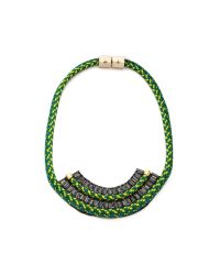 Holst + Lee - Green Holst Lee Oz Necklace - Lyst