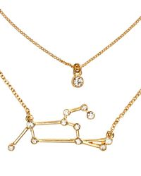 H&M - Metallic Two-strand Necklace - Lyst