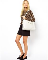 Matt & Nat - Dwell White Hobo Bag - Lyst