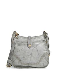 Frye | Gray 'campus' Crossbody Bag | Lyst