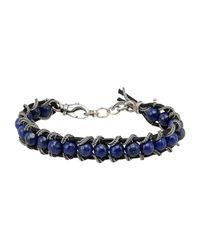 Emanuele Bicocchi - Blue Bracelet - Lyst