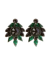 Coast | Green Corine Earring | Lyst
