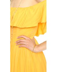 Lovers + Friends | Yellow Dream Vacay Dress - Ivory | Lyst
