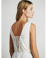 Free People - Natural Under Your Spell Dress - Lyst