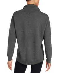 Calvin Klein | Gray Ribbed Turtleneck Sweater | Lyst