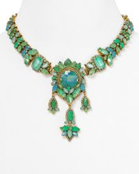 Aerin Erickson Beamon | Green Statement Necklace 18 | Lyst