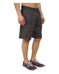 Adidas | Black Team Issue Fitted Short for Men | Lyst