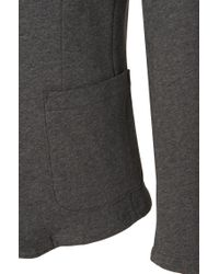 BOSS - Gray Slim-fit Jacket In Cotton: 'davoli 11' for Men - Lyst